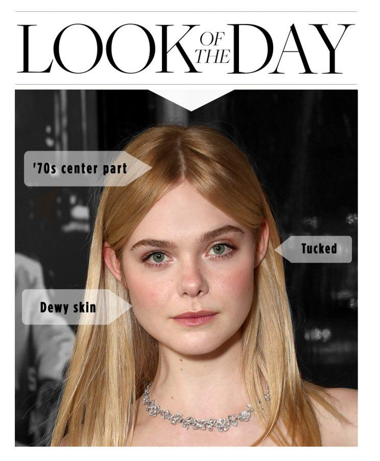 Elle Fanning Showed Us The Right Way To Tuck Hair Behind