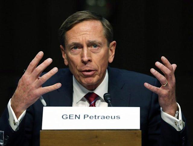 Retired U.S. Army Gen. David Petraeus. (Photo: Mark Wilson/Getty Images)