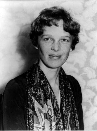 FILE PHOTO:    Renowned U.S. pilot Earhart is pictured in this 1928 handout photograph