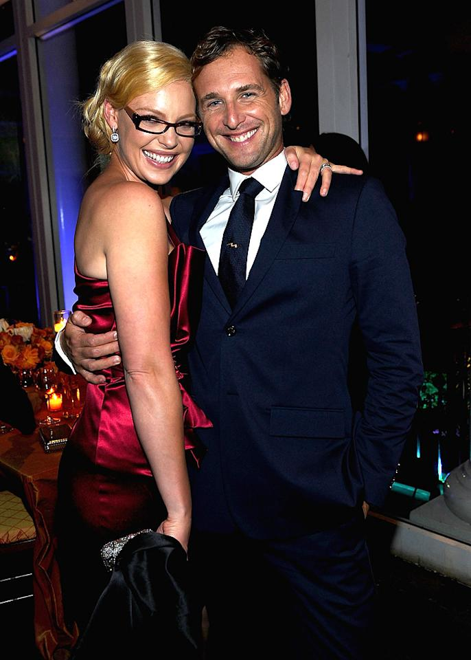 """<a href=""""http://movies.yahoo.com/movie/contributor/1800018759"""">Katherine Heigl</a> and <a href=""""http://movies.yahoo.com/movie/contributor/1800354375"""">Josh Lucas</a> at the New York City premiere of <a href=""""http://movies.yahoo.com/movie/1810126237/info"""">Life as We Know It</a> on September 30, 2010."""