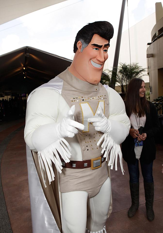 "Atmosphere from the Los Angeles premiere of <a href=""http://movies.yahoo.com/movie/1809998238/info"">Megamind</a> on October 30, 2010."