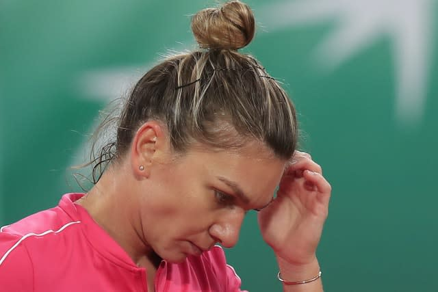 Simona Halep was unable to find the right answers against Iga Swiatek