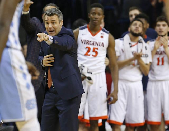 The Tar Heels missed a chance to clinch the ACC outright. (AP)