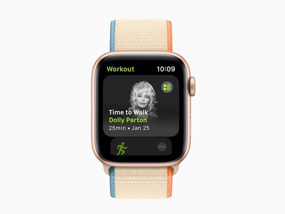 Apple has unveiled new features for its Fitness+ platform (Apple)