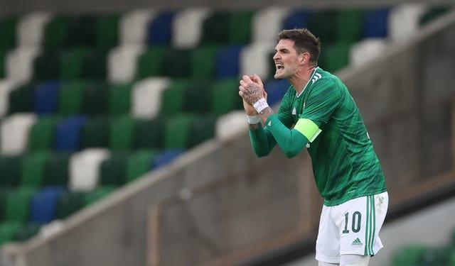 Lafferty is confident he can end his international drought dating back to November 2016