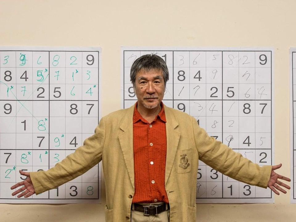 Despite the global success of Sudoku, Kaji never trademarked his game outside of Japan and as a result, never gained that much financially (AFP/Getty)