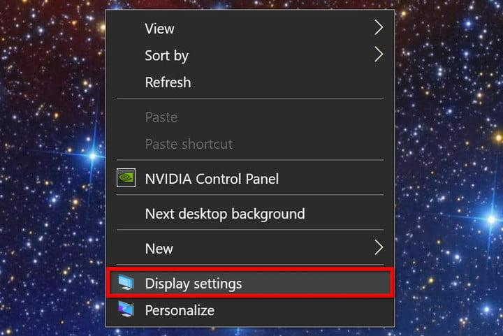 Menu emergente de pantallas en Windows 10 para conectar el PC a la TV