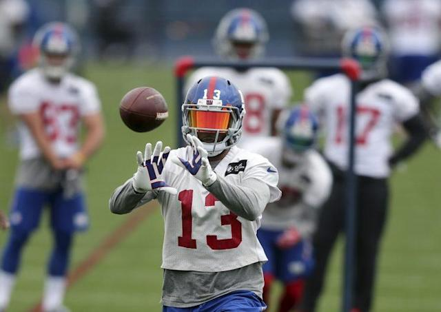 Odell Beckham is coming off a 1,450-yard season (AP)