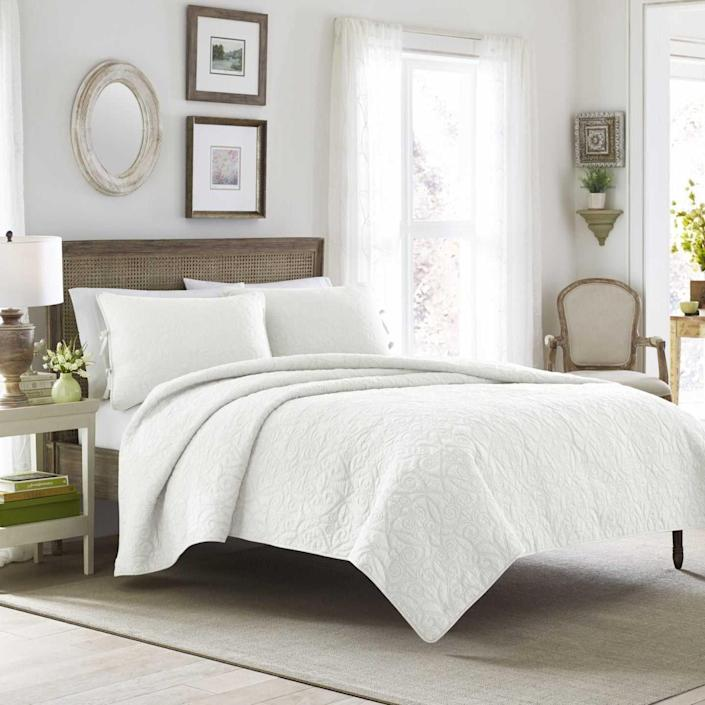 Stylish, affordable bedroom furnishings and bedding featured in Gap and Walmart's upcoming