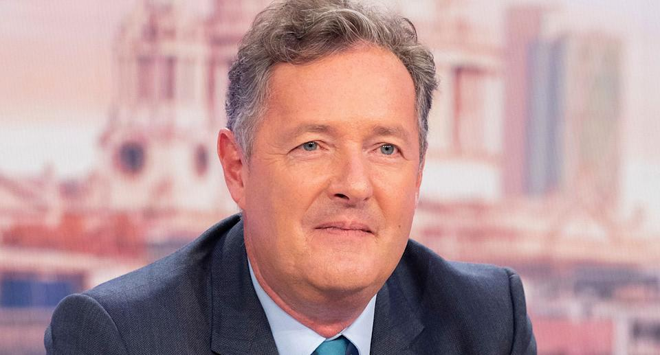 Piers Morgan on Good Morning Britain. Photo: ITV