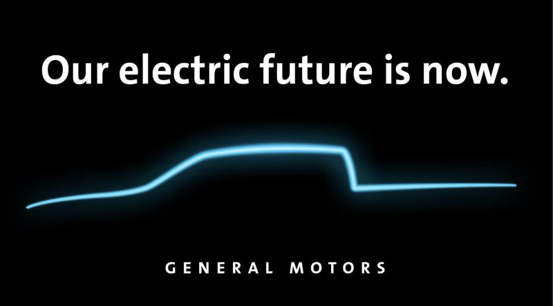 GM electric social media