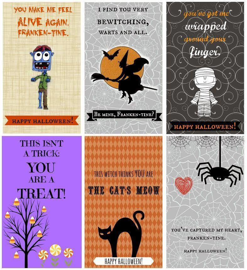 """<p>Frankentines are to Halloween what Valentines are to Valentine's Day! Print out these holiday-theme cards on card stock and share with your friends and fam. They'll be an extra special treat for the loved ones you can't visit in person this year.<br></p><p><strong>RELATED</strong>: <a href=""""https://www.goodhousekeeping.com/holidays/halloween-ideas/g3673/halloween-quotes/"""" rel=""""nofollow noopener"""" target=""""_blank"""" data-ylk=""""slk:60+ Halloween Quotes to Add to Your Cards"""" class=""""link rapid-noclick-resp"""">60+ Halloween Quotes to Add to Your Cards</a></p><p><em><a href=""""http://www.idigpinterest.com/frankentines-free-printables/"""" rel=""""nofollow noopener"""" target=""""_blank"""" data-ylk=""""slk:Get the printable at I Dig Pinterest »"""" class=""""link rapid-noclick-resp"""">Get the printable at I Dig Pinterest »</a></em></p>"""