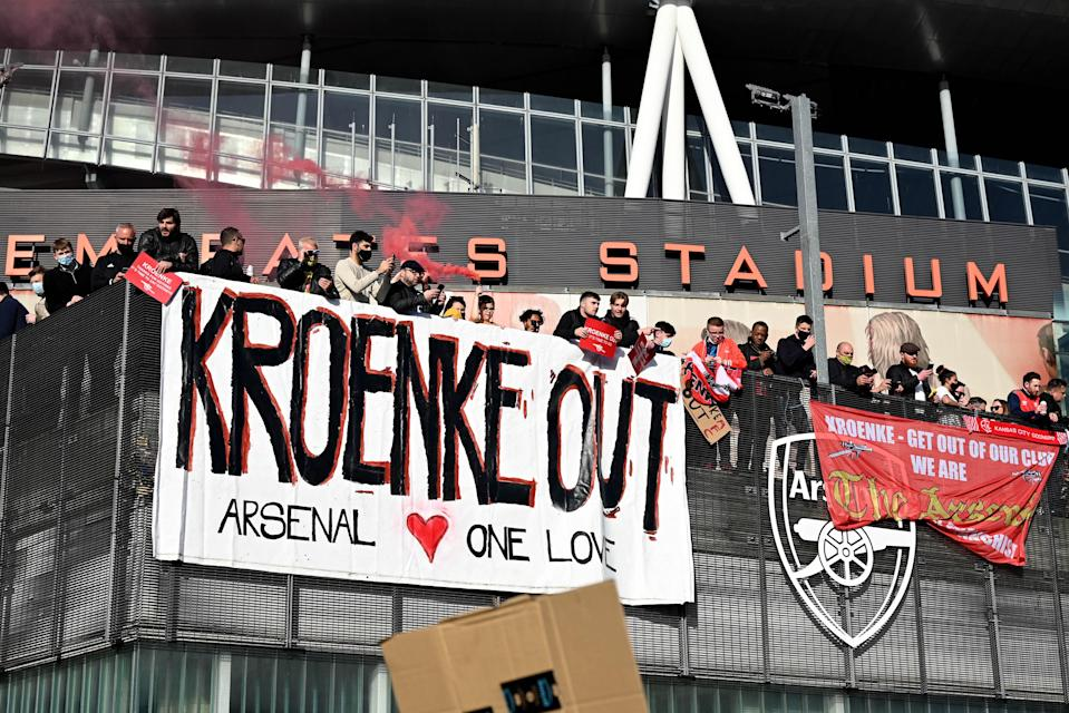 Fans have protested Kroenke's ownership (Getty Images)