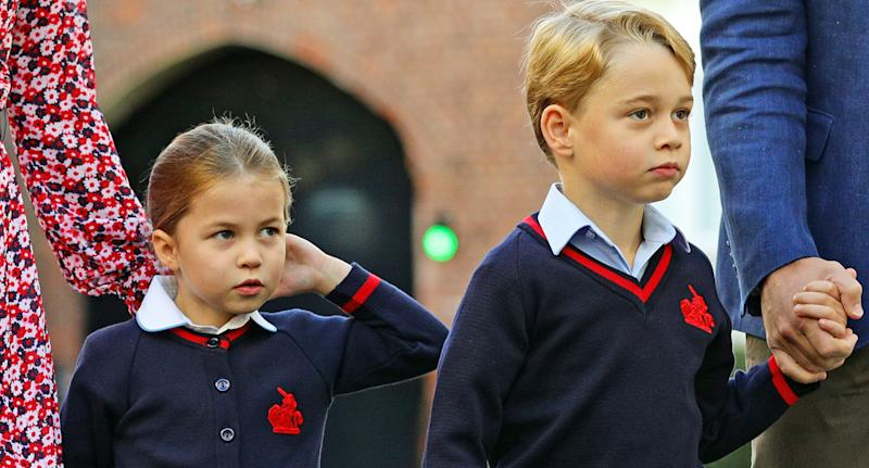 Prince George and Princess Charlotte will attend church on Christmas Day this year. [Photo: Getty]
