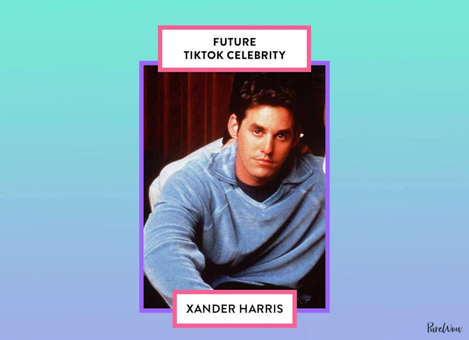 <p>Sarcasm, dark humor and pop culture references are among Xander's favorite things. Clearly, this automatically qualifies him as a potential TikTok star.</p>