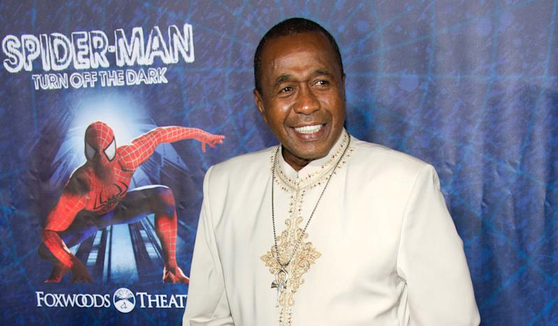 "FILE - In this June 14, 2011 file photo, Ben Vereen arrives at the opening night performance of the Broadway musical ""Spider-Man Turn Off the Dark"" in New York. Court records show Vereen filed for divorce from his wife of 36 years, Nancy Bruner Vereen, on Sept. 13, 2012. The actor-dancer cited irreconcilable differences for the breakup and his filing indicated the couple separated in March. (AP Photo/Charles Sykes, File)"