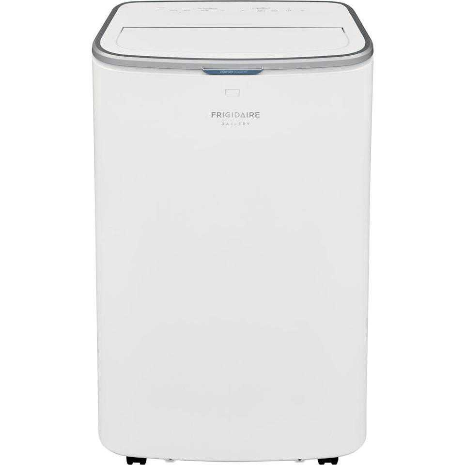 """<p><strong>FRIGIDAIRE GALLERY</strong></p><p>homedepot.com</p><p><strong>$542.77</strong></p><p><a href=""""https://go.redirectingat.com?id=74968X1596630&url=https%3A%2F%2Fwww.homedepot.com%2Fp%2FFRIGIDAIRE-GALLERY-13-000-BTU-Portable-Air-Conditioner-with-Wi-Fi-Control-in-White-GHPC132AB1%2F312533750&sref=https%3A%2F%2Fwww.goodhousekeeping.com%2Fappliances%2Fg21286604%2Fbest-portable-air-conditioner%2F"""" rel=""""nofollow noopener"""" target=""""_blank"""" data-ylk=""""slk:Shop Now"""" class=""""link rapid-noclick-resp"""">Shop Now</a></p>"""