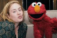 Adele might be the master of a dramatic cat eye, but here she proves makeup-free is just as lovely.