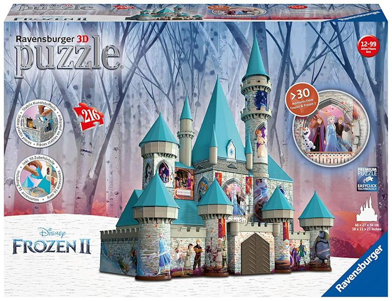 Ravensburger Disney Frozen 2 Castle - 216 Piece 3D Jigsaw Puzzle. (Photo: Amazon)