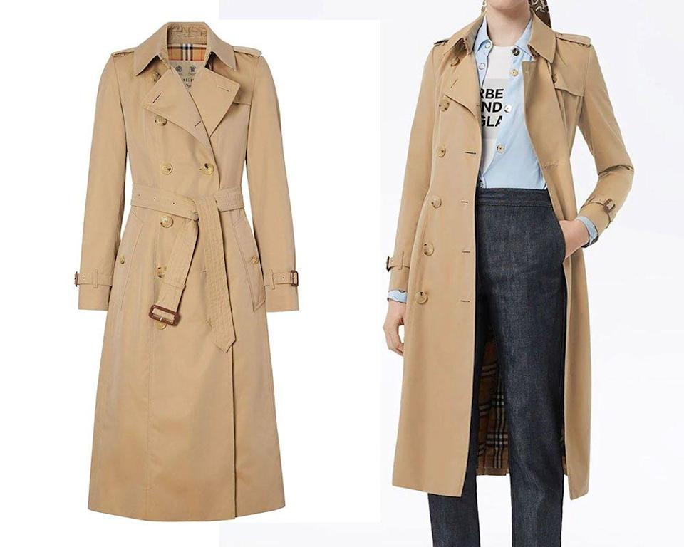 Burberry The Long Chelsea Heritage trench coat ($18200)