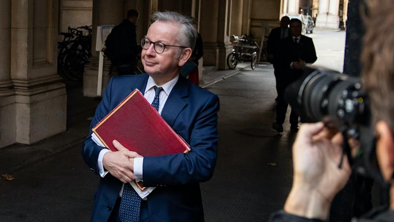 Gove defends £7,000 day rates paid to Test and Trace consultants