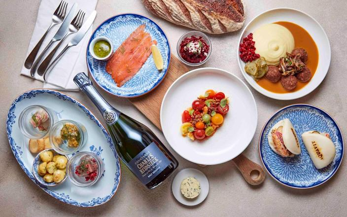 Aquavit at Home delivery is available across London - Aquavit