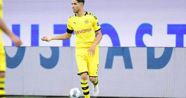 Foot - Transferts - Transferts : Achraf Hakimi quitte le Real Madrid pour l'Inter Milan (officiel)