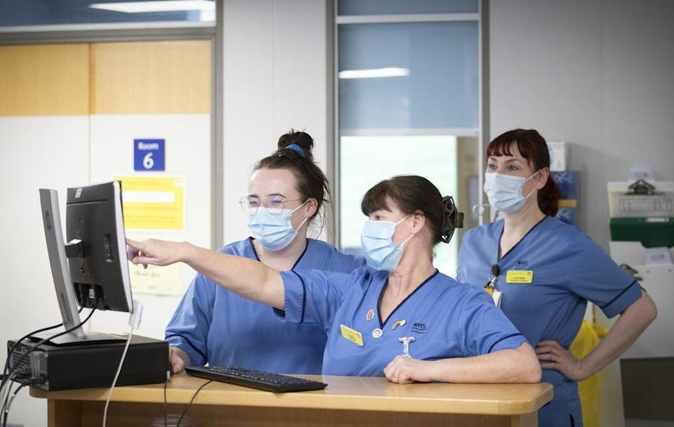 Government ministers have been told that nurses should have their job title protected in law (Jane Barlow/PA) (PA Wire)