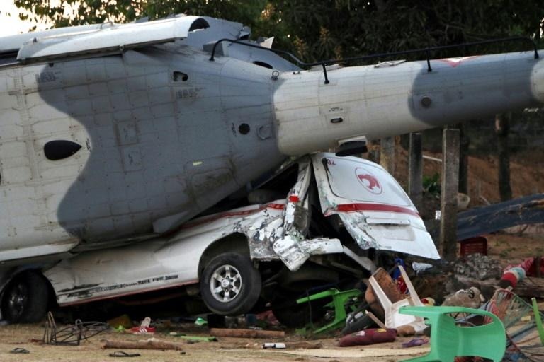 Three children were among the 13 people killed in the Mexican helicopter crash near the epicenter of a strong earthquake in Santiago Jamiltepec, Oaxaca state