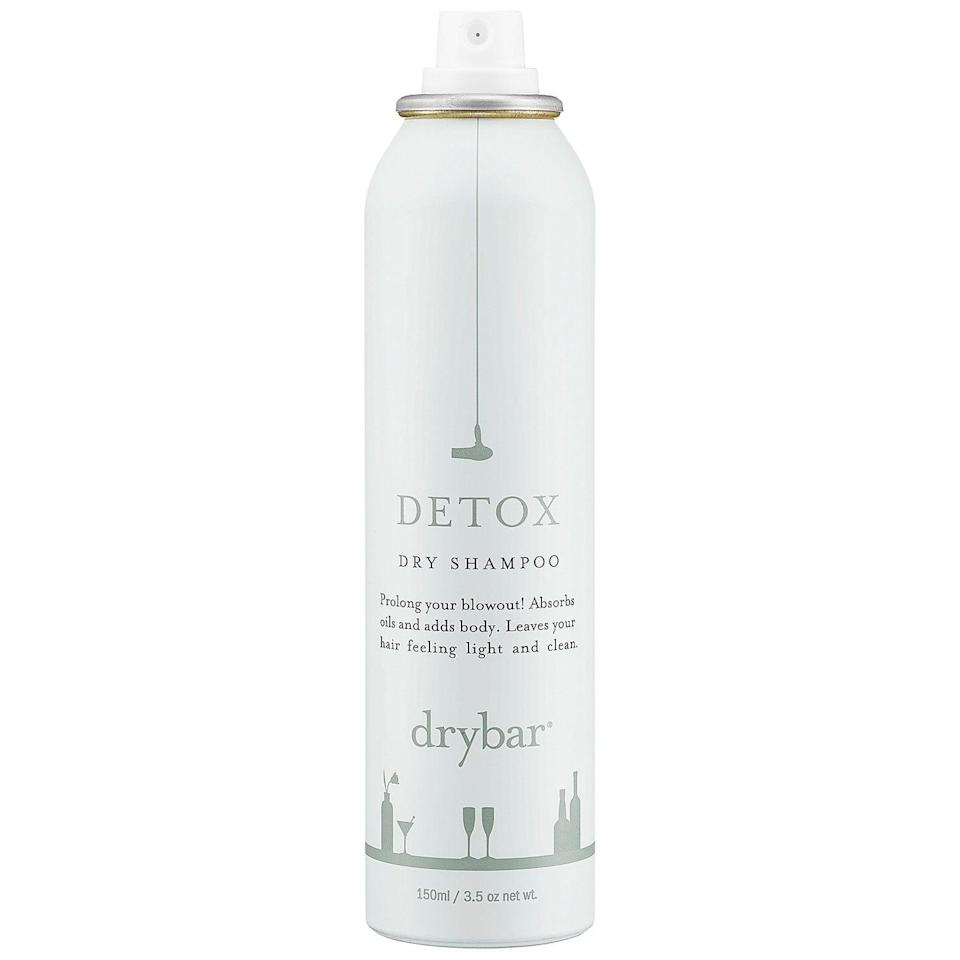 <p>To extend your time between blowouts, make sure to spray plenty of <span>Drybar Detox Dry Shampoo</span> ($23) through your strands to absorb oil.</p>