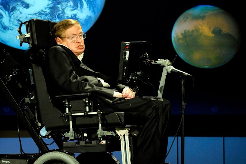 Stephen Hawking died on Wednesday aged 76 (Getty Images)