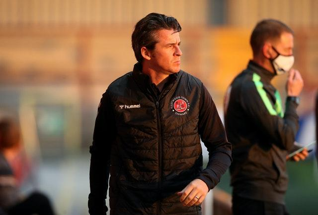 Joey Barton is in charge at League One Fleetwood