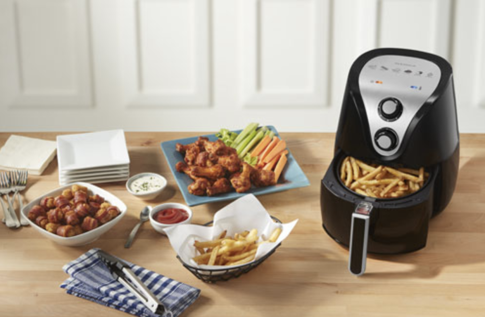 Insignia Air Fryer - 3.2L/3.4QT - Black - Only at Best Buy