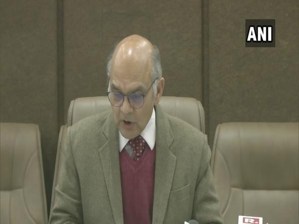Election Commissioner K K Sharma (Photo/ANI)