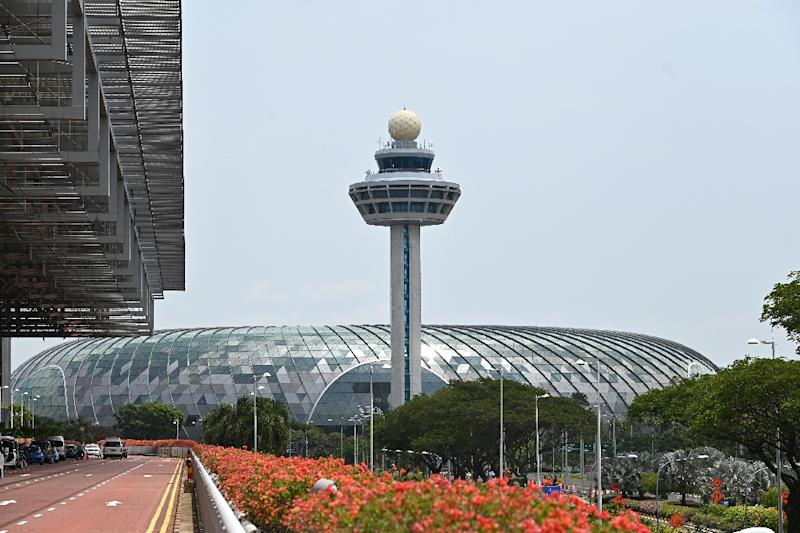 Changi Airport closed one of its two runways after drones were spotted nearby