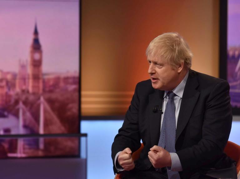 Critics have hit out at Prime Minister Boris Johnson for allegedly politicising the London Bridge attack (AFP Photo/JEFF OVERS)