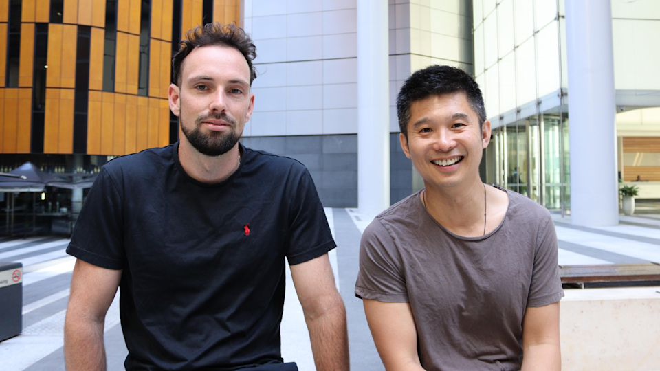 Co-owners of Vively, Tim Veron and Michael Pang