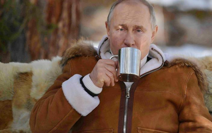 Russian President Vladimir Putin in the Siberian Federal District - Alexei Druzhinin /TASS
