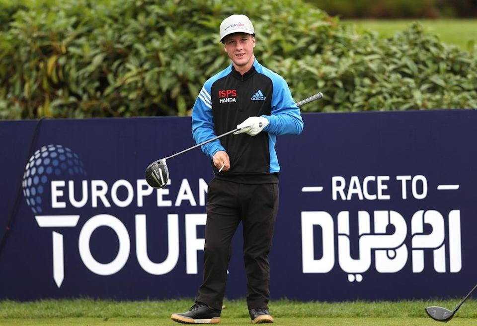 Brendan Lawlor during day two of the ISPS HANDA UK Championship at The Belfry (David Davies/PA) (PA Archive)