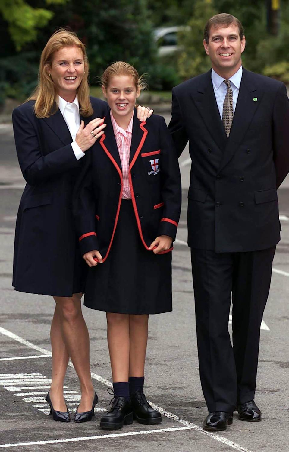 The Duke and Duchess of York's eldest daughter attended the school near Windsor, along with her younger sister Eugenie. <em>[Photo: PA]</em>