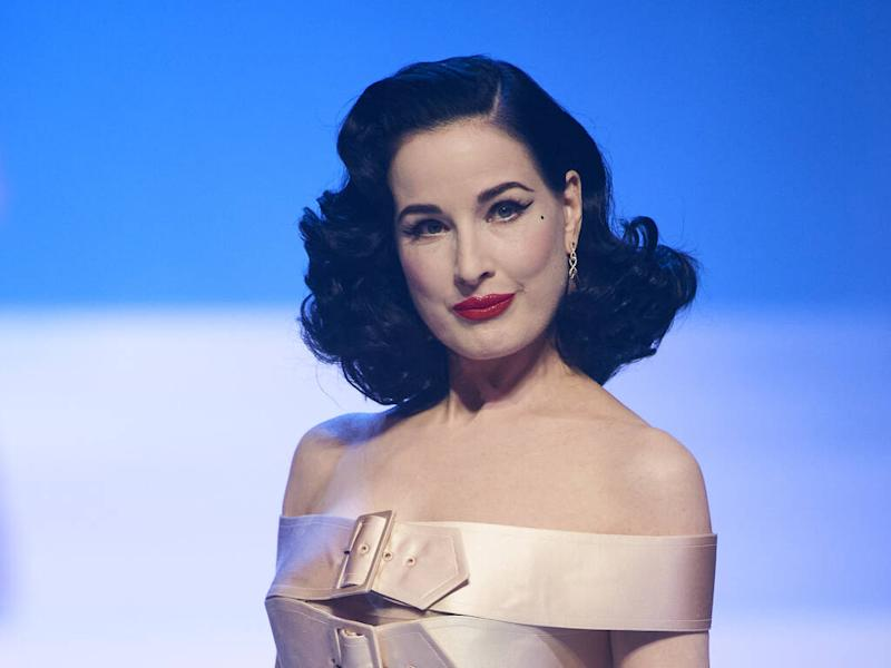 Dita Von Teese thrilled to walk in Jean Paul Gaultier's final couture show