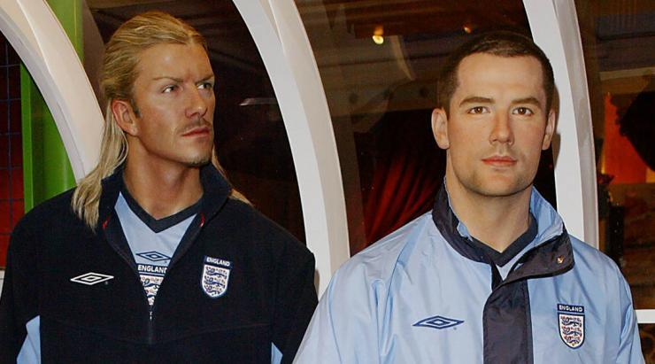 <p>Becks and Little Mo in their late-'90s boyband stage. </p>