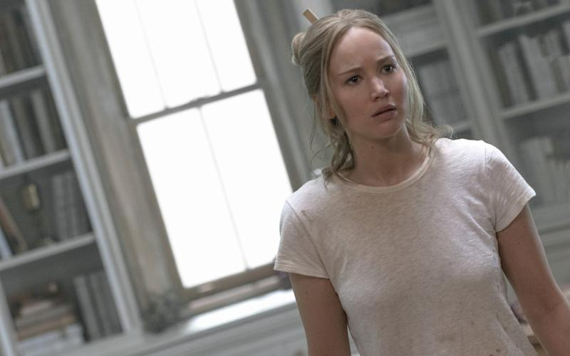 Jennifer Lawrence in Mother! - © 2017 Paramount Pictures. All rights reserved.