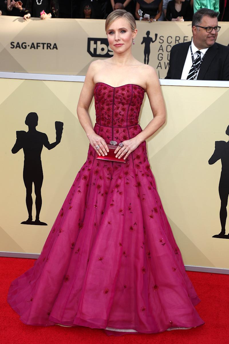 Celebs red seeing favor the fiery hue