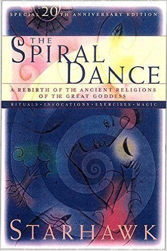"Pagan priestess and teacher Starhawk wrote the first edition of <i><a href=""http://www.amazon.com/Spiral-Dance-Rebirth-Religion-Anniversary/dp/0062516329/ref=asap_bc?ie=UTF8"">The Spiral Dance</a></i> in 1979, and it helped set the stage for a feminist, goddess-centered spiritual movement that evolved in the ensuing decades. The book offers ""a guide to the life-affirming ways in which readers can turn to the goddess to deepen their sense of personal pride, develop their inner power, and integrate mind, body, and spirit,"" according to <a href=""http://www.amazon.com/Spiral-Dance-Rebirth-Religion-Anniversary/dp/0062516329/ref=asap_bc?ie=UTF8"">Amazon</a>."