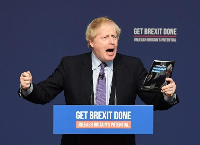 Prime Minister Boris Johnson launches his party's General Election manifesto in Telford