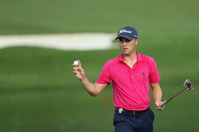 Justin Thomas, who dropped out of the PGA Championship with a wrist injury, is expected to return at the Memorial.
