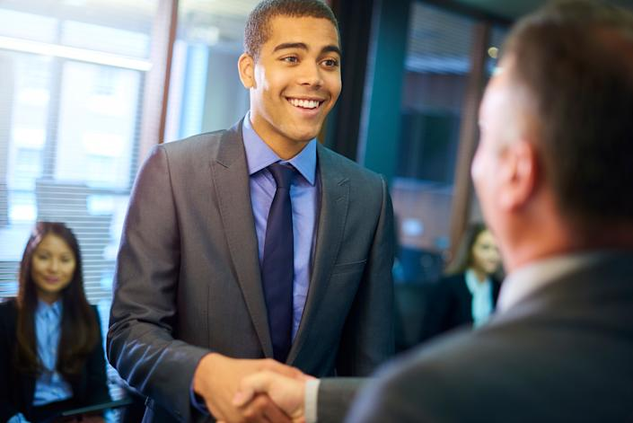 Ask these questions to impress your interviewer and learn important information about the job. (Photo: sturti / Getty Images)