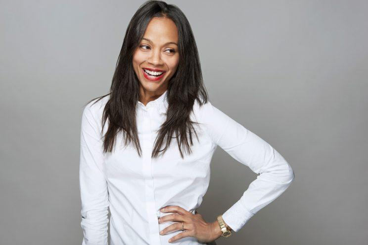 Zoe Saldana. (Photo: Christopher Beyer, Getty Images)