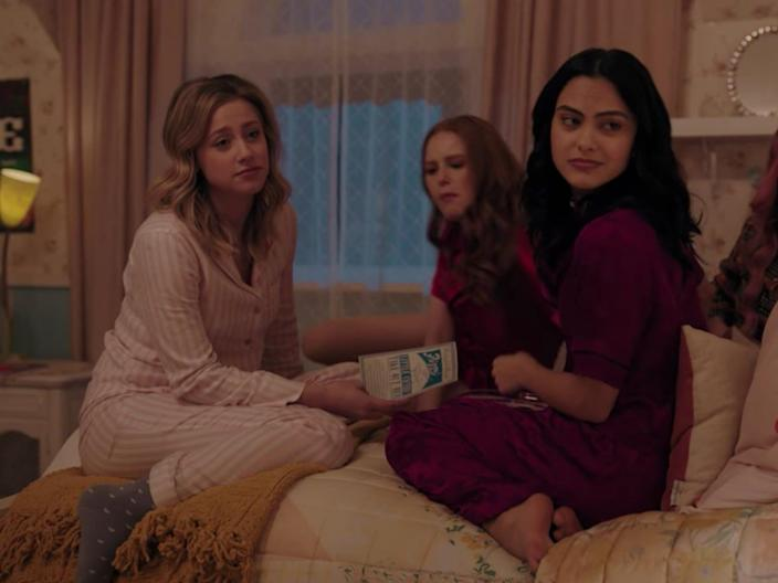 betty and veronica riverdale pjs
